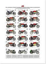 The Glorious Years of Honda Screaming Multis / A-1 poster