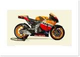 2011 Honda RC212V - Repsol Honda Team