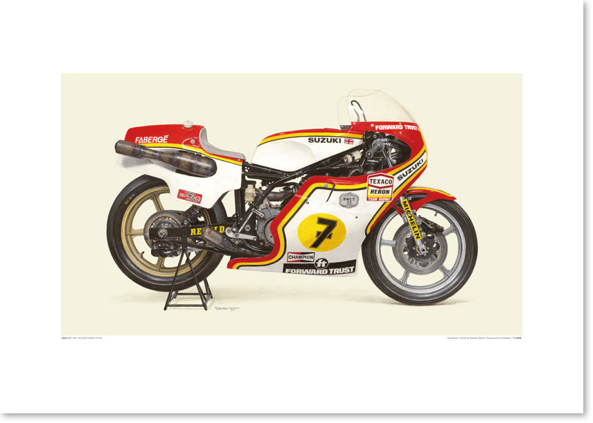 Photo1: 1977 SUZUKI RG500 (XR14) - Texaco Heron Team Suzuki